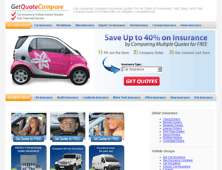 getquotecompare.co.uk screenshot