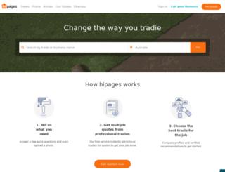 getquotes.hipages.com.au screenshot