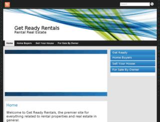 getreadyrentals.com screenshot