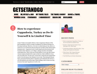 getsetandgo.wordpress.com screenshot