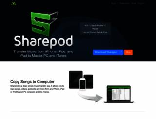 getsharepod.com screenshot