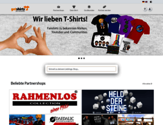 getshirts.de screenshot