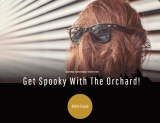 getspookywiththeorchard.splashthat.com screenshot