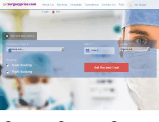 getsurgeryprice.com screenshot