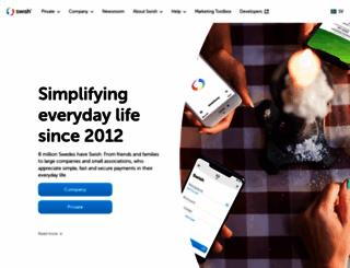 getswish.se screenshot