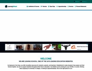 getting-in.com screenshot
