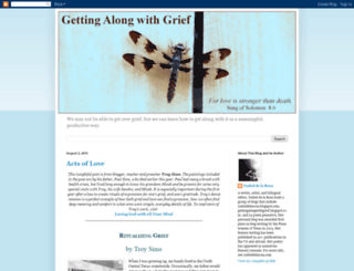 gettingalongwithgrief.blogspot.co.il screenshot
