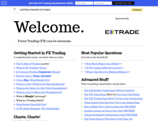 gettingstartedinforex.com screenshot