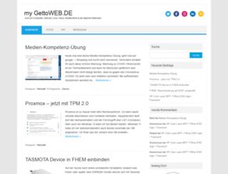 gettoweb.de screenshot