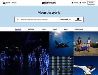 gettyimages.co.nz screenshot