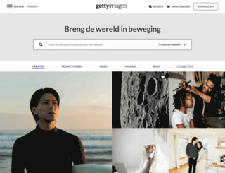 gettyimages.nl screenshot
