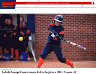 gettysburgsports.com screenshot
