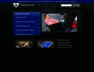 getvan.com screenshot