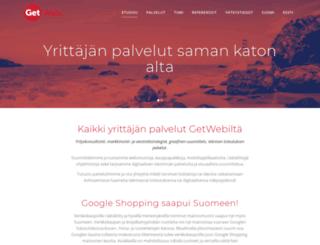 getweb.fi screenshot
