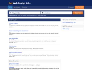 getwebdesignjobs.net screenshot