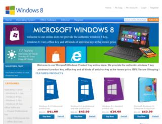 getwindows8productkey.com screenshot