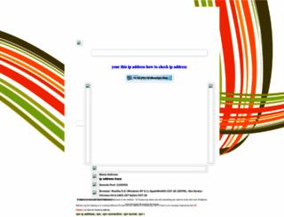 getyouripaddress.blogspot.com screenshot
