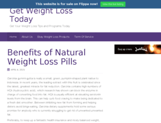 getyourweightlosstoday.com screenshot