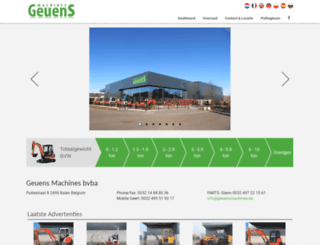 geuensmachines.be screenshot