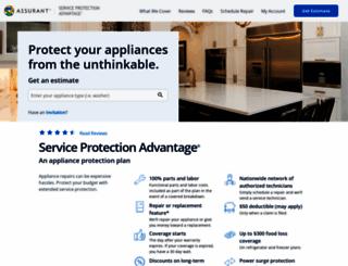 gewarranty.com screenshot