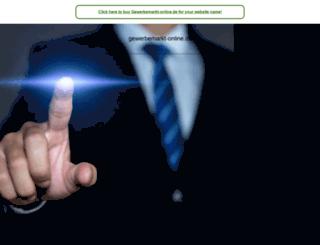 gewerbemarkt-online.de screenshot
