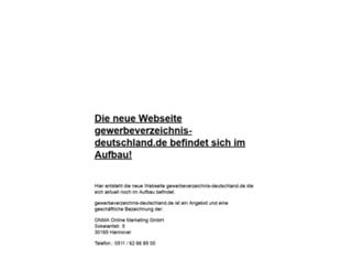gewerbeverzeichnis-deutschland.de screenshot