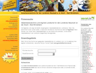 gewerbeverzeichnis-nea.de screenshot