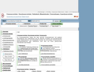 gewerbeverzeichnis-oesterreich.at screenshot