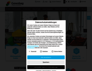 gewobag.de screenshot