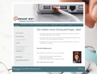 gewusstwieweb.de screenshot