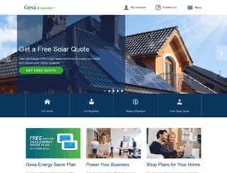 gexaenergy.com screenshot