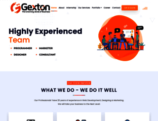 gexton.com screenshot
