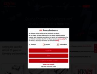 geyer-electronic.com screenshot