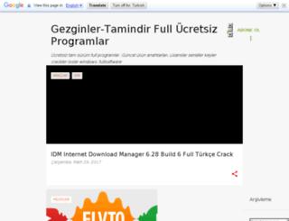 gezginler-tamindir.blogspot.com.tr screenshot