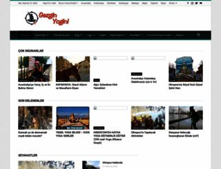 gezginyogini.com screenshot