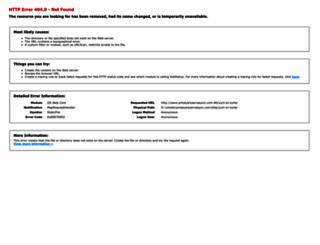 gezi-antalya.com screenshot