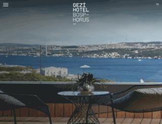 gezibosphorus.com screenshot