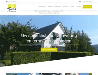 gezo-zonwering.nl screenshot