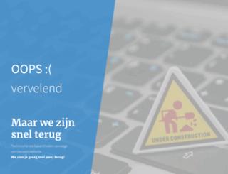 gezond-vitaal.nl screenshot