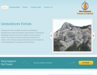 gfacalgary.org screenshot