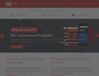 gfenet.de screenshot
