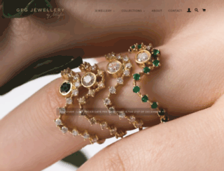gfgjewellery.com screenshot