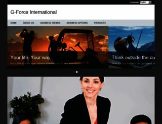 gforceinternational.com screenshot