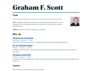 gfscott.com screenshot