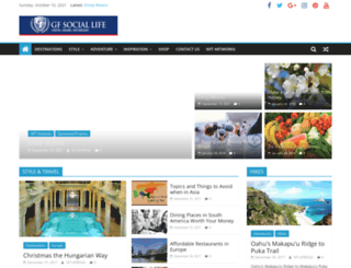 gfsociallife.com screenshot