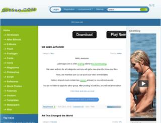 gfxsea.net screenshot