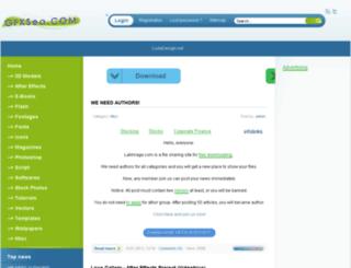 gfxsea.org screenshot