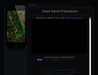 gg-prod.com screenshot