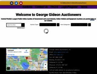 ggauctionsonline.com screenshot