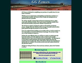 ggfence.com screenshot